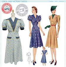1940s Dress Patterns Simple 48s Sewing Patterns Dresses Overalls Lingerie Etc 48s