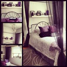 Black And White And Purple Bedroom Ideas
