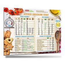 Kitchen Conversion Chart Baking Cooking Measurement