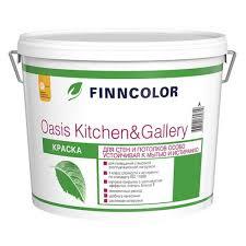 Купить <b>Краска в/д</b> для стен и потолков <b>OASIS</b> Kitchen&Gallery 7 ...