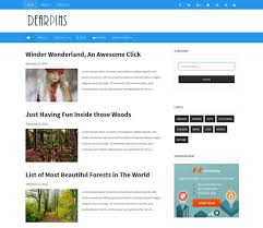 free template blogger. 100 Free Responsive Blogger Templates 2018 freshDesignweb