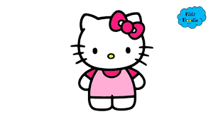 Hello Kitty Line Drawing Free Download Best Hello Kitty