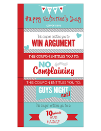 Romantic Coupon Book Template Free Birthday Coupon For Boyfriend I