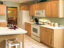 smart kitchen paint colors with light oak cabinets