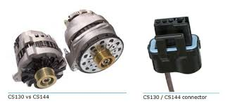 how to identify your gm internally regulated alternator american delco remy cs130d alternators were used on gm vehicles between 1994 beyond