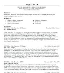 Financial Analyst Resume Objective Financial Analyst Resume Sample Finance Analyst Resume Financial 40