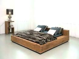 Related Post Modern Low Bed Frame Twin With Storage Walnut Queen ...