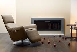 modern recliner chair. Cool Non Working Fireplace And Modern Recliner Chair With Built In Storage Idea Feat Hardwood Floor N