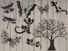 on large garden metal wall art with outdoor metal wall art design ideas indoor outdoor decor