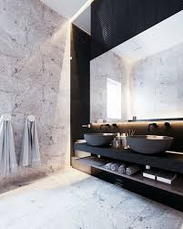 modern bathrooms designs. Love The Modern Minimalist Design Of This Contemporary Bathroom. Vessel Sinks And Wall Hung Bathrooms Designs