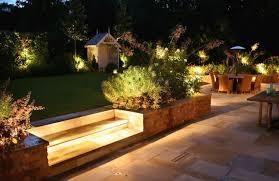 garden lighting ideas. Charming Garden Ideas With Fabulous Outdoor Lighting And Ceramic Floor G