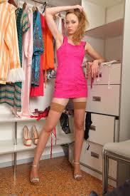 Skinny amateur girl next door in stockings Pichunter Online.