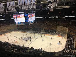 Scotiabank Maple Leafs Seating Chart Scotiabank Arena Section 307 Toronto Maple Leafs