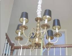 diy brass chandelier makeover in my own style inside brass chandelier makeover gallery 4
