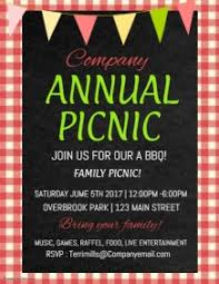 Picnic Template 890 Customizable Design Templates For Company Picnic Postermywall