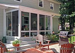 Dream Home Three Season Porch  Rustic  Living Room  Minneapolis Three Season Porch