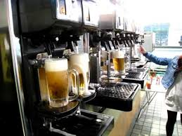 Beer Vending Machine Japan Stunning Japanese Draft Beer Server YouTube