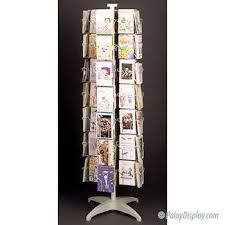 Rotating Greeting Card Display Stand