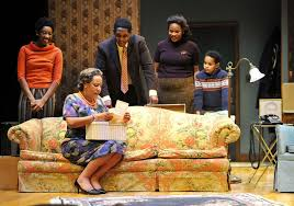 playmakers repertory company presents a raisin in the sun and the raisin in the sun cast includes standing from left miriam hyman