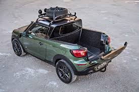 MINI Cooper pickup truck, towing with a VW Touareg TDI and a full ...