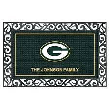 green bay packers rug green bay packers rug the green bay packers personalized welcome mat green green bay packers rug