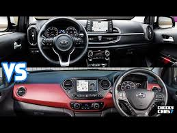 2018 kia picanto review. beautiful picanto new kia picanto 2018 vs hyundai i10 2017  interiors for kia picanto review