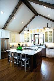 kitchen lighting for vaulted ceilings. Sloped Ceiling Kitchen Lighting Vaulted Ceilings Design . For