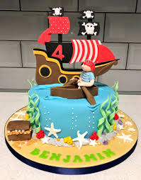 Cake In A Box On Twitter Pirate Themed Birthday Cake