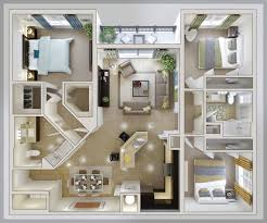 ... Minimalist Plan Small House Plans 3 Bedrooms Full Size