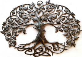 metal tree wall art haiti metal art