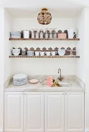 Ivory Floating Shelves Simple Whimsical Butlers Pantry With Ornate Wood Floating Shelves