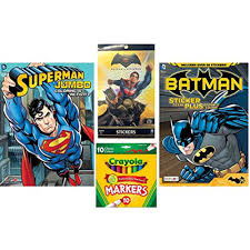 What was going on in that knightmare sequence when bruce wayne has a vision of an apocalyptic future with superman. Batman Vs Superman Coloring And Activity Books With Over 60 Stickers And 3 Sticker Scenes Plus Sticker Book With 270 Stickers And 10ct Crayola Markers Walmart Canada