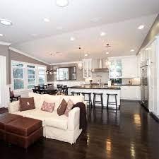 Easy Open Open Concept Kitchen Living Room Open Plan Kitchen Living Room Living Room And Kitchen Design