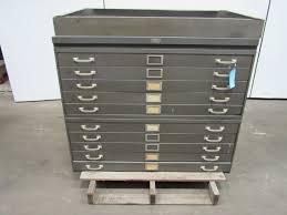 File Cabinet Republic 10 Drawer Architect Blueprint Art Flat Files File Cabinet
