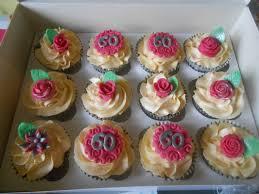 60th Birthday Cupcakes Tracys T Cakes