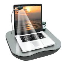 beautiful laptop lap desk ideas multi purpose tray with adjule led light cup holder table fan
