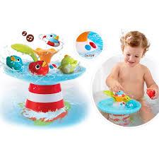 cute baby bath toys electronic al fountain duckling swimming bathtub shower