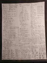 calculus review sheet ap calc bc cheat sheet enjoy you guys apstudents