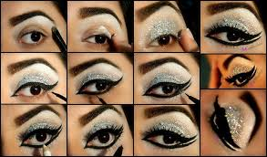 easy glittery stani eye makeup makeups face art bridal
