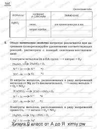 Страница № Нитраты металлов габриелян контрольная работа класс