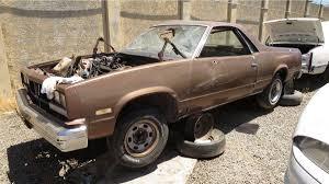 Junkyard Treasure: 1985 Chevy El Camino