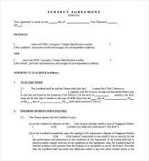 After your room rental agreement template is exactly as you like it, you can discuss it with your tenant this sample house rental agreement template specifies the following details: Free 18 Sample Tenancy Agreement Templates In Pdf Ms Word Google Docs Pages