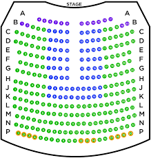 Color Purple Seating Chart Seat Maps