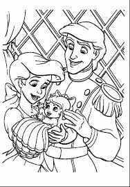 Little Mermaid Coloring Sheets Pages Ariel Printables The Free To