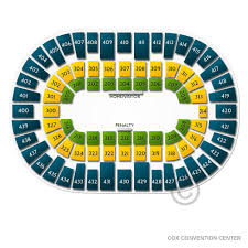 Cox Convention Center Seating Chart Iowa Wolves At Oklahoma City Blue Tickets 3 18 2020 7 00