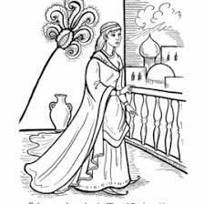Esther And Mordecai Coloring Pages Queen Page Chronicles Network