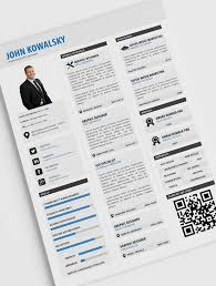 Resume Pdf Template Custom Professional Resume Template PSD PDF