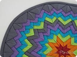 120 best GLACIER STAR QUILTS images on Pinterest   DIY, Mandalas ... & Folded star mini · Mini Quilt PatternsStar ... Adamdwight.com
