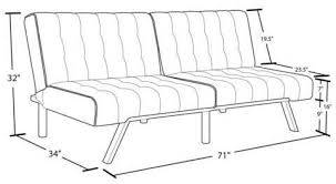 emily convertible futon review