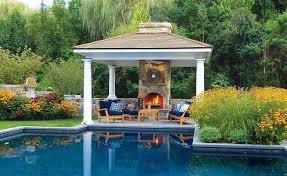 outdoor garden structures pool and management types of
